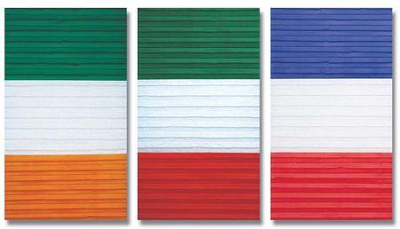 drapeaux - Irlande, Italie et France en papier